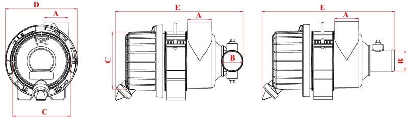TL specs diagram.