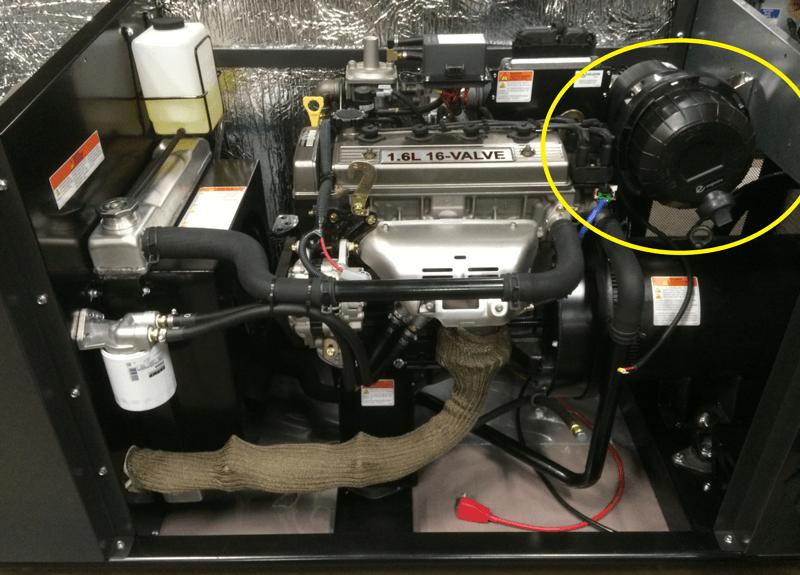 UL on Briggs and Stratton engine.