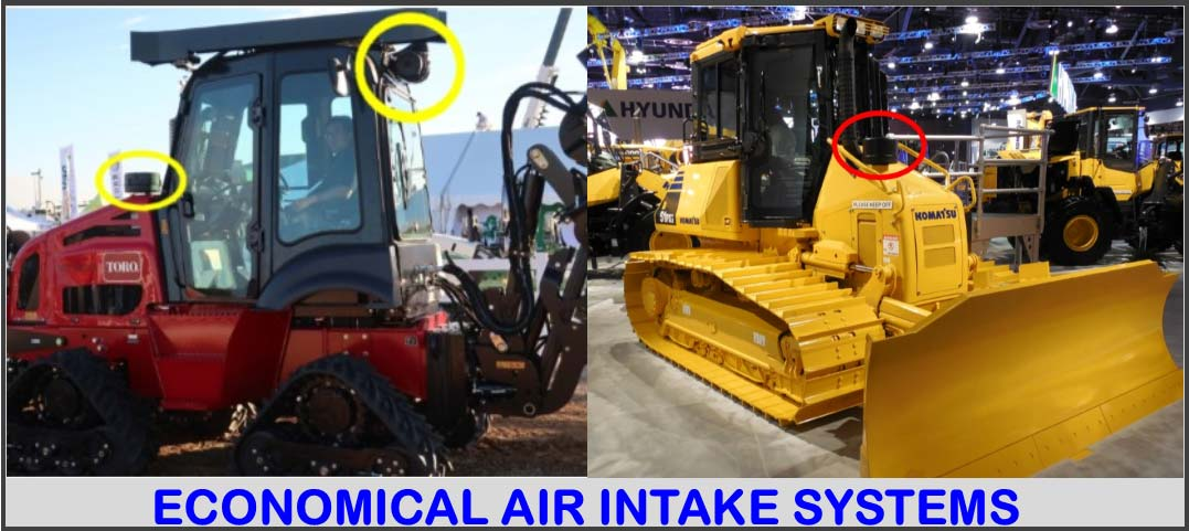 Economical air intake systems.
